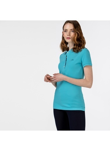Lacoste Kadın Polo Tişört PF5462P.YZK Mavi